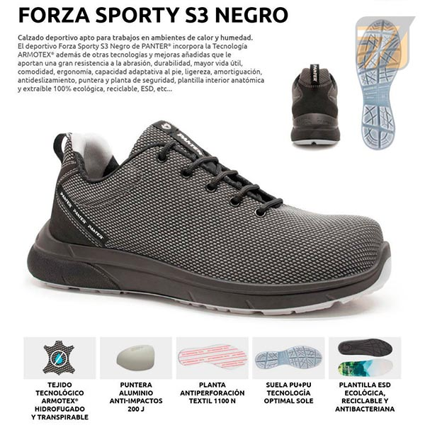 Zapatillas Panter Forza Sporty
